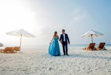 Anniversary Session of Bren & Bianca  in Maldives by Apple Greatson Photography