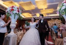 Wedding day of Tung Riyadi dan Tazkia by Angke Restaurant & Ballroom Jakarta