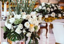 Tropical Day and The Beautiful Culture on Giulia and Marwan Wedding by Bali Flower Decor