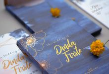 Dinda & Fristo - Mirror Wedding Invitation by Jogja Wedding Net