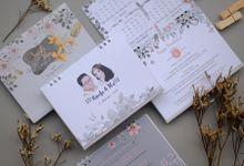 Nanda & Itha - Calendar Weddingcard by Jogja Wedding Net