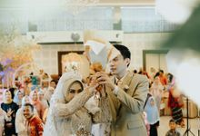 Nadia & resfi wedding by bianglalastory