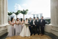 The Wedding of Gilbert & Natalia 190120 The Fullerton Hotel SG by AS2 Wedding Organizer
