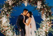 Rustic & Modern Wedding with a hint of Navy at Sinaran Surga Villa Bali by Silverdust Decoration
