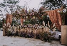 Ivana & Hartanto Outdoor Wedding by Artsy Design