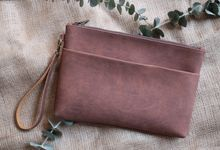 Pouch double zipper by VAIA