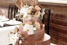 The Wedding of Friska & Matthew by KAIA Cakes & Co.