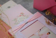Edo & Merry - Frame Photo Invitation with Ribbon by Jogja Wedding Net