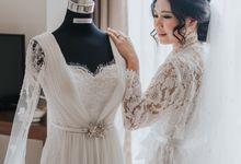 EDWIN & MEGA'S WEDDING by Cloche Atelier