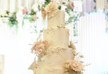 The Wedding of Angka & Imelda by KAIA Cakes & Co.