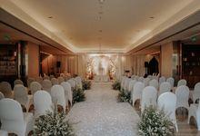 THE WEDDING OF GEO & FELI by GLORIOSA DECORATION