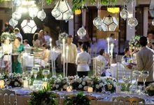 Wedding Dinner at Puri Santrian by Puri Santrian Resort