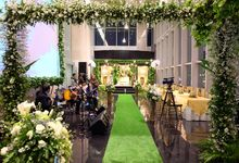 Wedding of edo & melta by La'SEINE Function Hall