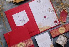 Vinny & Akbar - Ethnic Red Weddingcraft by Jogja Wedding Net