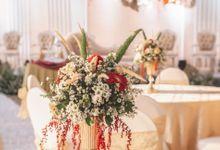 THE WEDDING OF K & V by GLORIOSA DECORATION