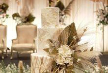 The Wedding of Reynard & Cynditya by KAIA Cakes & Co.