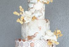 The Wedding of Yoshi & Ariani by KAIA Cakes & Co.