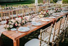 Elegant Wedding by Bali Izatta Wedding Planner & Wedding Florist Decorator