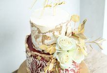 Sangjit of Andrew & Theresia by KAIA Cakes & Co.