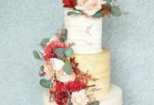 The Wedding of Stephen & Jacqueline by KAIA Cakes & Co.