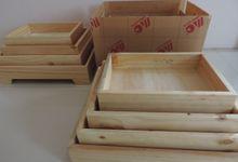 Sewa Rustic Tray Kotak by Desafa Seserahan