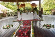 Simple Wedding by The Sankara Resort & Spa