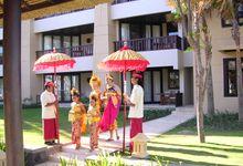 Balinese Wedding by Conrad Bali