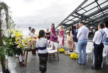 Balinese Wedding  of  Kristina Dimsiene by Anantara Seminyak Bali Resort