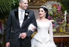 Resepsi Akad Nikah Tasya Farasya & Ahmad Assegaf  by D'soewarna Wedding Planning