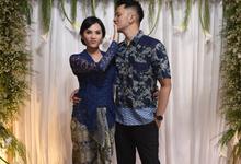 Engagement day of Anggi & Julio by D'soewarna Planner & Organizer