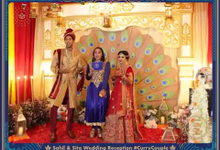The Wedding Day of Sahil Shah & Sithara Safira by D'soewarna Wedding Planning