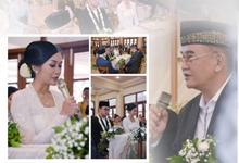 Acara Pernikahan Ratu Aletha Dwitami & Aga Pratama by D'soewarna Planner & Organizer