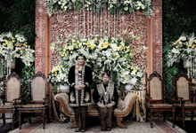 The Wedding Reception of Annisa Ganesha  by D'soewarna Wedding Planning