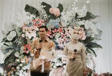Acara Lamaran Siti Ardiya Sakinah Salim Sug by D'soewarna Wedding Planning