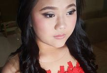 Teenage Party Makeup And Hairdo by Victoria Chang Makeup Artist