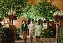 Nandita & Agung Wedding 24 Februari 2018 by Menara Mandiri (Ex. Plaza Bapindo) by IKK Wedding