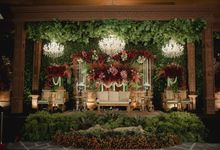 Bold Themed Wedding of Agung Nindita by  Menara Mandiri by IKK Wedding (ex. Plaza Bapindo)