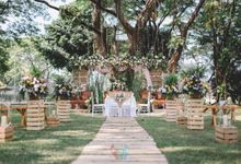 Rustic Setup for Ayumi & Adit Wedding by Warna Project