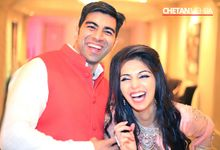 Gorgeous Bride Groom Engagement Ceremony by Chetan Mehra Photography