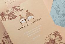 Dewa & Abigail by Gracia The Invitation
