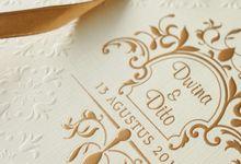 Dwina & Aldito by Meltiq Invitation