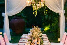 Kayumanis Sanur Dinner Reception in the garden by Kayumanis Sanur Private Villa & Spa