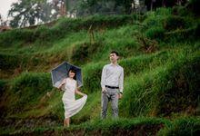 Rain In Nature Bali Engagement by Mariyasa