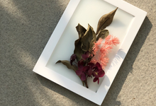 Custom scented wax art frame for Farewell Gift by é.clat