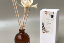 Reed Diffuser Wedding Hampers of Mira & Agung by é.clat
