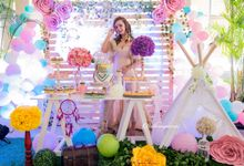 Chan Lucya Birthday Lunch by Buttercup Decoration
