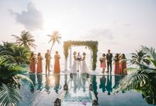 Tara & Sher wedding at Conrad Koh Samui by BLISS Events & Weddings Thailand