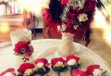 ROXANNE WEDDING BOUQUET by LUX floral design