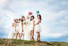 Noviana & Bridesmaids by hm photography bali