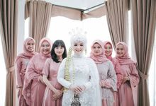 The Wedding Of Ami & Rizal by Kawaninaproject